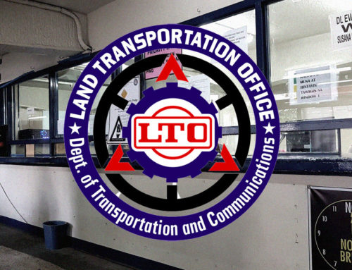 LTO requires motorcyclists to have a bigger, readable, and color-coded plate numbers