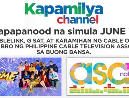 Kapamilya shows! Simula sa June 13 mapapanood mo na muli!